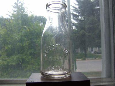 Georgetown Dairy Milk Bottle