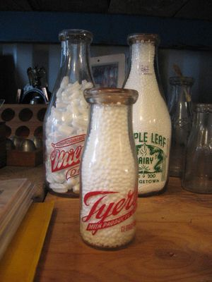 Milk Bottles -Acton, Milton & Georgetown