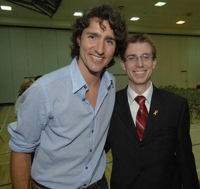Trudeau Visits Georgetown