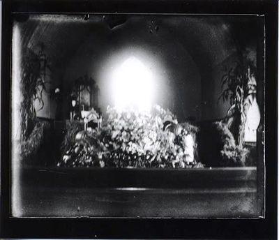 Congregational Church Interior c. 1900