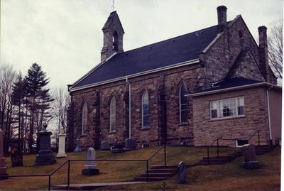 Exterior View of Boston Presbyterian Church