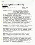 Esquesing Historical Society Newsletter 1981