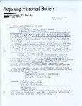 Esquesing Historical Society Newsletter 1982