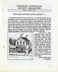 Esquesing Historical Society Newsletter March 1992