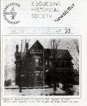 Esquesing Historical Society Newsletter September 1993