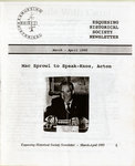Esquesing Historical Society Newsletter March 1995