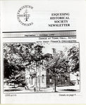Esquesing Historical Society Newsletter September 1996