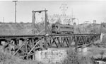 Niagara, St. Catharines & Toronto Electric Railway crossing a bridge, 1930