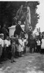 Sir Arthur Currie Unveils War Memorial, 1924