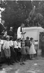 Canon Woodstock Blesses War Memorial, 1924