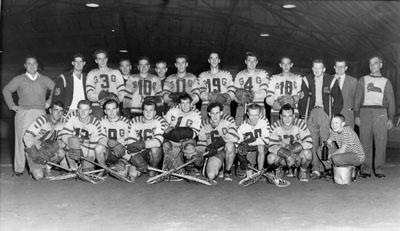 The Georgetown N&G's Lacrosse Team 1953