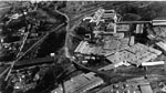 Aerial photograph of Beardmore tannery, Acton