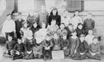 Students at Henderson's Corner Stone School