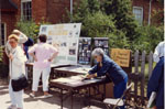 Esquesing Historical Society display