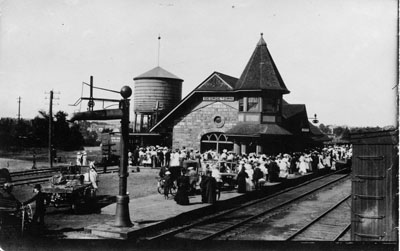 Grand Trunk Railway station, Georgetown