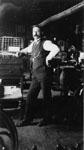 Man in Printing Shop