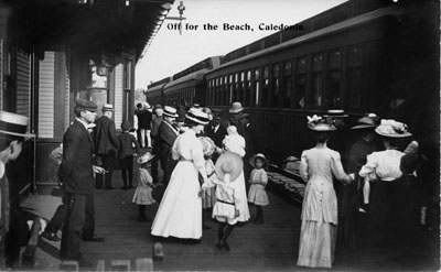 Off for the Beach, Caledonia