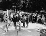 Inauguration of Natural Gas