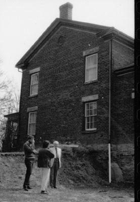 EHS/LACAC tour of MacLaren House