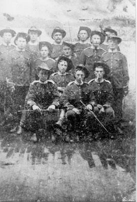 Halton Volunteers 1866