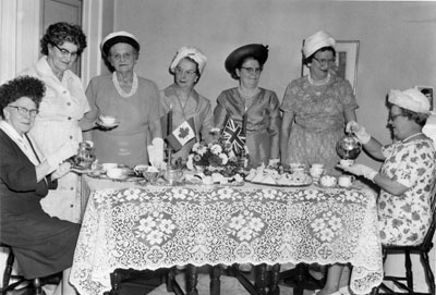 Peel Reg't Chapter Imperial Order Daughters ...1966