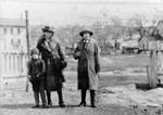 Two ladies and a boy c1920