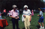 Karen Hunter and Christine Bishop 1991