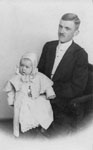 William McDonald & Infant Son c1903