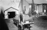 Bill McDonald at 243 Guelph Street - 1952