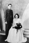 Unidentified Wedding Photo c1955