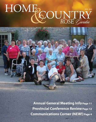 Home & Country Newsletters (Stoney Creek, ON), Fall 2010