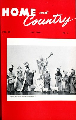 Home & Country Newsletters (Stoney Creek, ON), Fall 1968
