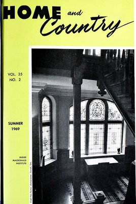 Home & Country Newsletters (Stoney Creek, ON), Summer 1969