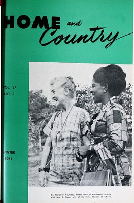 Home & Country Newsletters (Stoney Creek, ON), Winter 1971