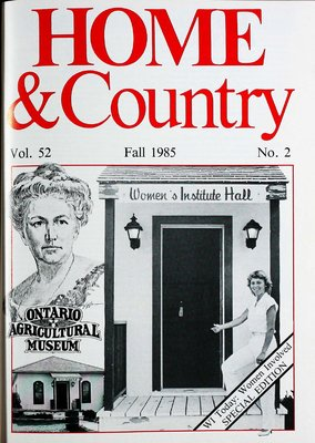 Home & Country Newsletters (Stoney Creek, ON), Fall 1985