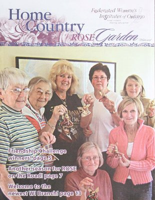 Home & Country Newsletters (Stoney Creek, ON), Rose Garden, Winter 2008