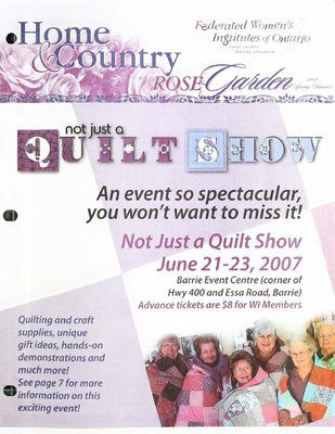 Home & Country Newsletters (Stoney Creek, ON), Rose Garden, Spring & Summer 2007