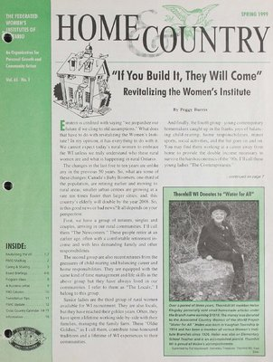 Home & Country Newsletters (Stoney Creek, ON), Spring 1999