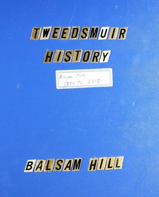 Balsam Hill WI Tweedsmuir Community History - Volume 2