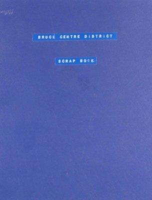 Bruce Centre District WI Scrapbook