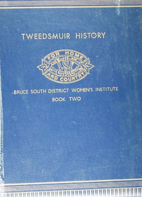 Bruce South District Women's Institute Volume 2