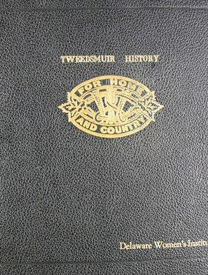 Delaware WI Tweedsmuir Community History - Volume 1
