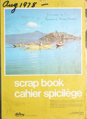 Elsinore Women's Institute Scrapbook Volume 1978-1980
