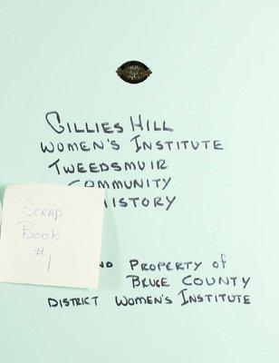 Gillies Hill WI, Scrapbook 1