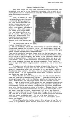 Glasgow WI Tweedsmuir Community History - Volume 2