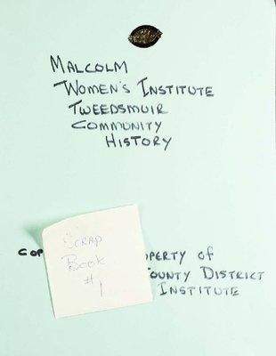 Malcolm WI, Scrapbook 1