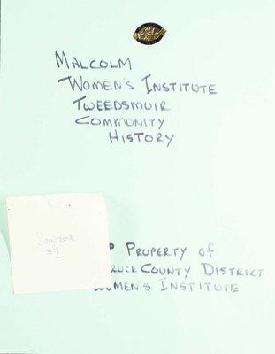 Malcolm WI, Scrapbook 2