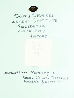 South Saugeen WI Scrapbook, Volume 4