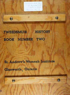 St. Andrew's WI Tweedsmuir Community History, Volume 2 1972-1981