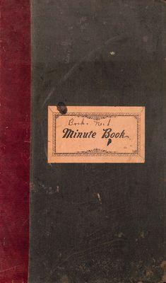 Amherst Island WI Minute Book: 1901-06